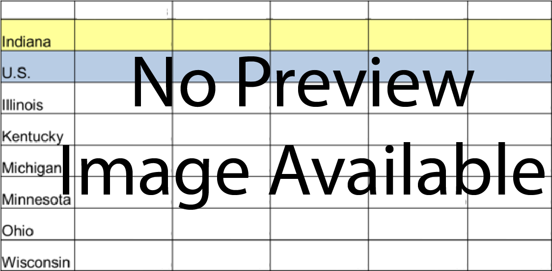 Placeholder Image of the IN Monthly Report Table.