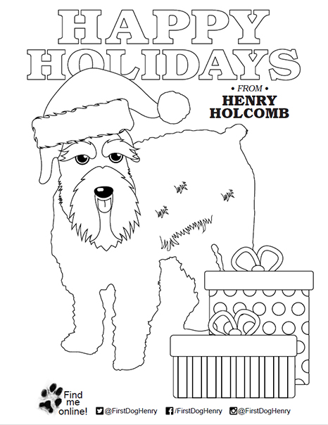 Governor First Lady Janet Holcomb Henry S Coloring Pages