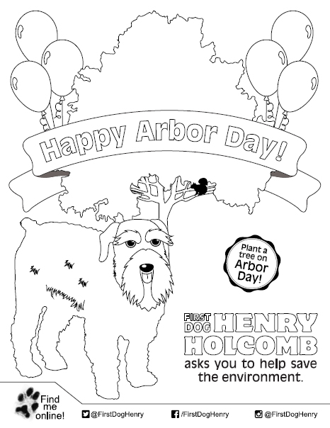 Governor Eric J Holcomb First Dog Henry Coloring Pages