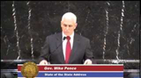 Indiana Governor Mike Pence's 2013 State Of The State Address