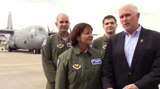 Germany Day 1: Governor, First Lady from Ramstein Air Base