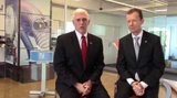 Germany Day 2: Governor Pence Joins Chairman of Norres for Jobs Announcement
