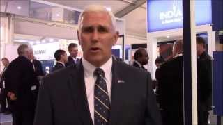 UK Day 1: Governor Pence Kicks Off Indiana Presence at Farnborough International Air Show