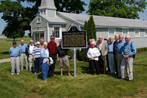 Atterbury Army Air Field Historic Marker Dedication
