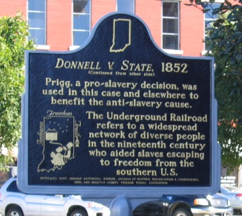 Side two of the marker