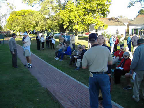 Approximately 40 people attended the dedication ceremony.