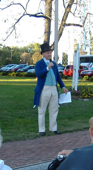 Richard Day, historian, Vincennes State Historic Sites.