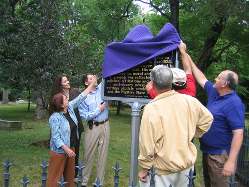 Ovid Butler, Sr. Historic Marker Dedication