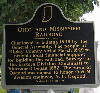 Side 1 of the marker.
