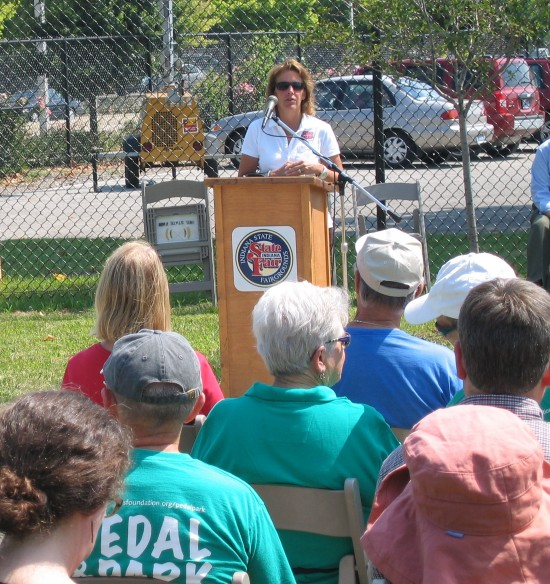 Cindy Hoye, Executive Director - Indiana State Fairgrounds