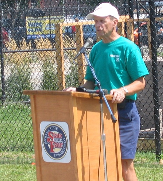 Skip Higgins of the Central Indiana Bicycling Association Foundation