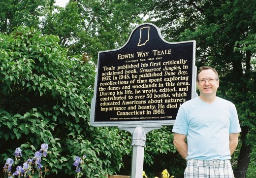 Edwin Way Teale Indiana Historical Marker dedication ceremony