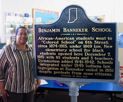 Benjamin Banneker School dedication
