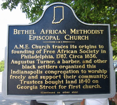 Bethel African Methodist Episcopal Church - Side 1