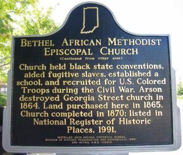 Bethel African Methodist Episcopal Church - Side 2
