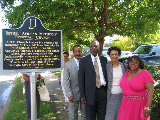 Bethel African Methodist Episcopal Church Dedication