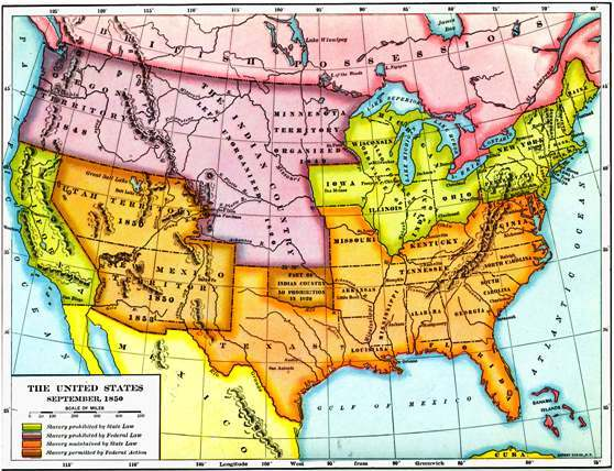 map of missouri compromise of 1820. Downloaded from Maps ETC,