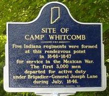 Site of Camp Whitcomb