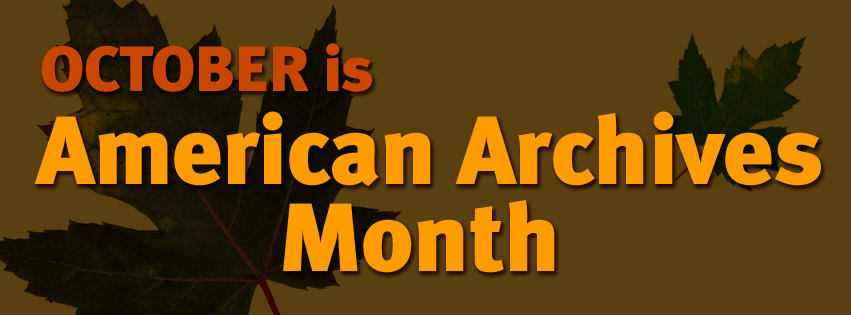 Archives Month 2018 Logo