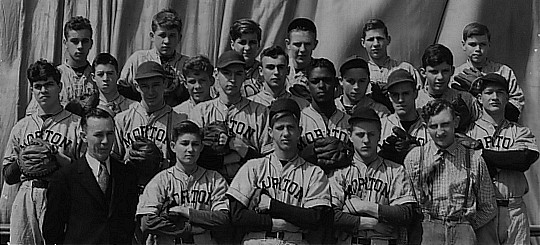 Morton Tigers Baseball Team, 1937