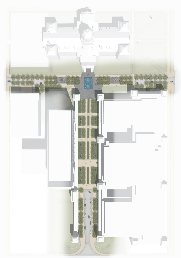 Proposed Design of Bicentennial Plaza