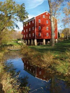 Paul Crook of Kokomo captured Adams Mill and its reflection on a millrace feeding Wildcat Creek.