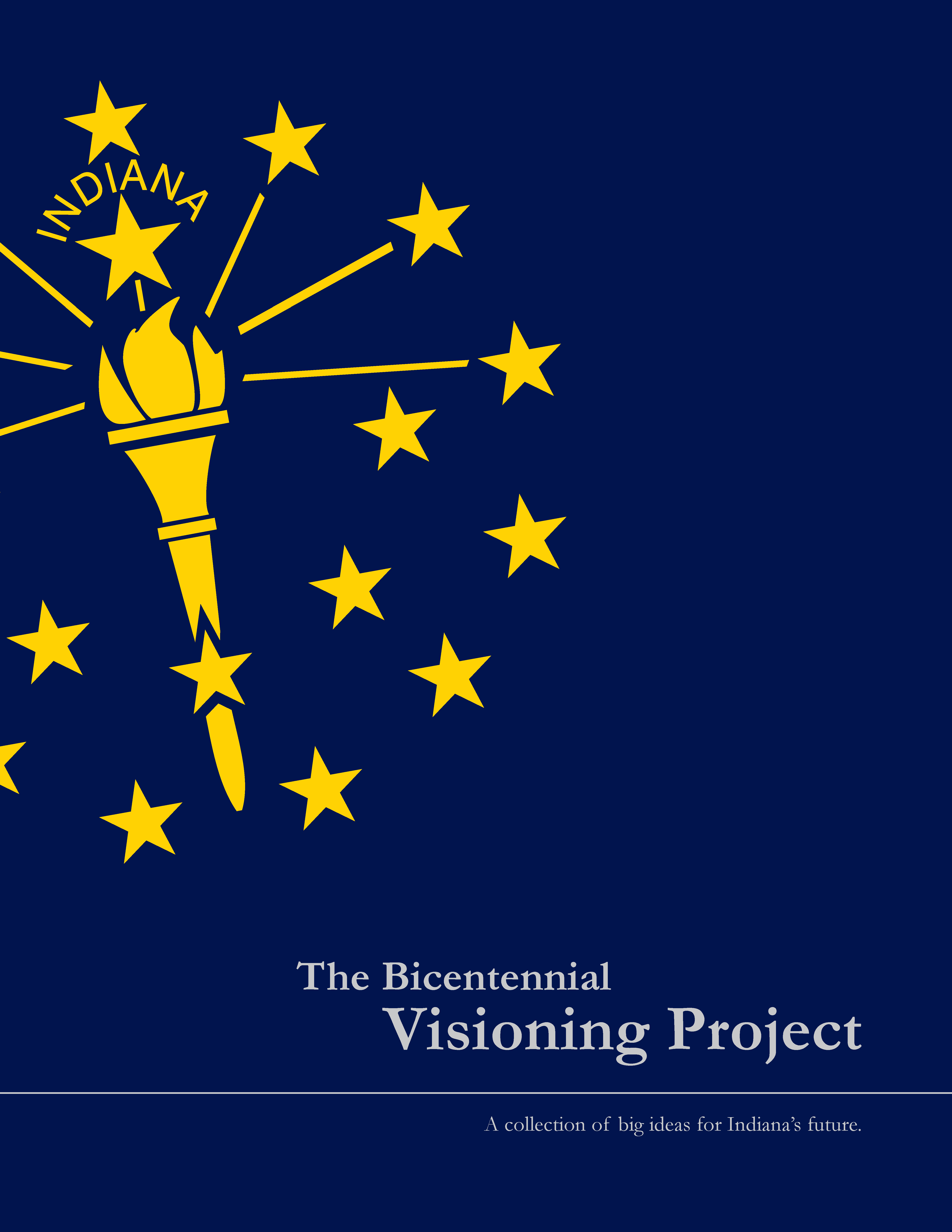 Cover page designs for school projects note book cover page design - A Collection Of Big Ideas For The Hoosier State Visioning Project Cover