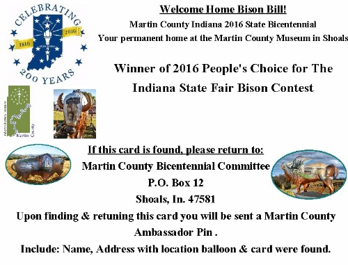 Martin County Balloon Card