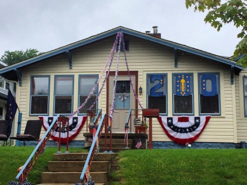 Boone County Bicentennial Home Decorations