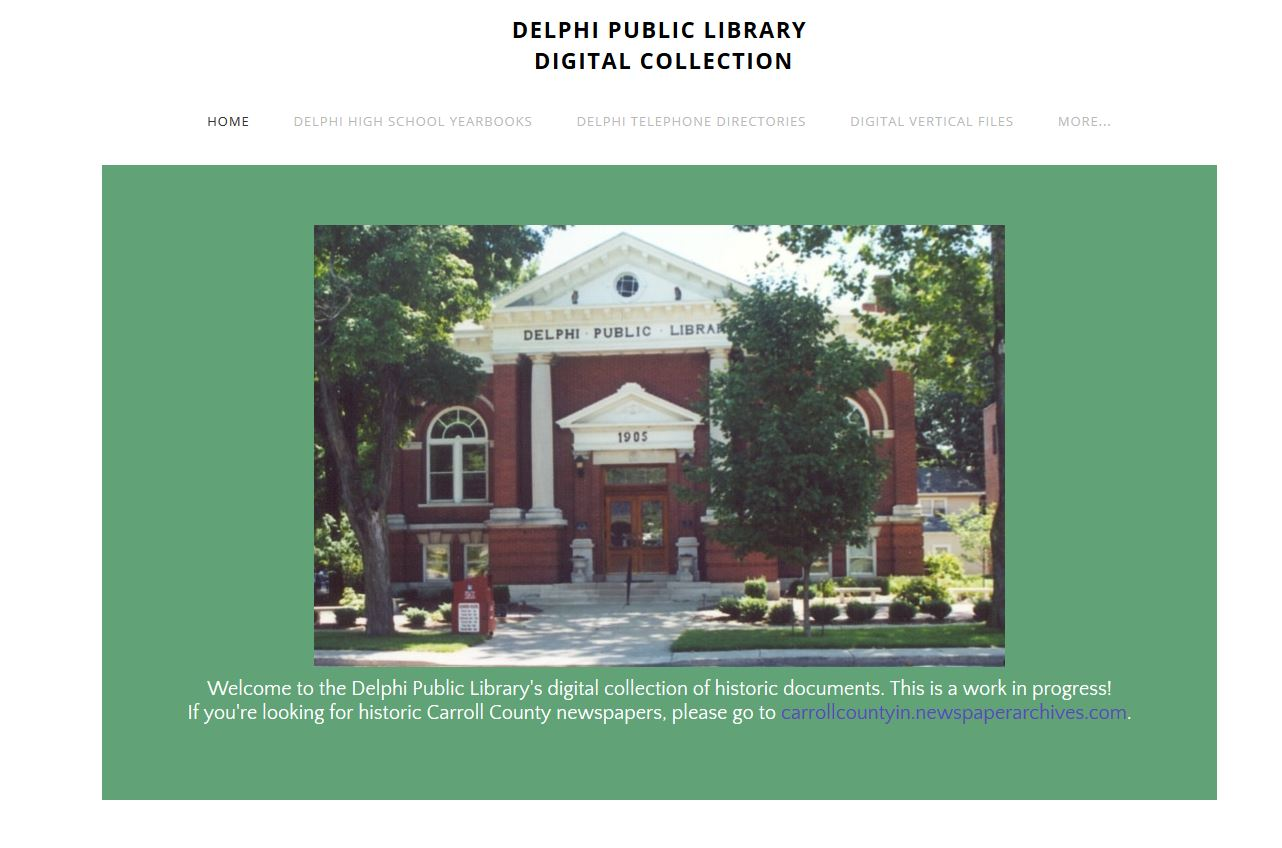 Carroll County Digital History Library