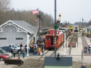 Photo courtesy of Loretta Kosloske, Hoosier Valley RailroYou Can Journey Back to a Bygone Era