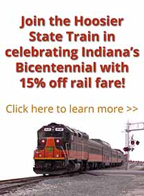 Join the Hoosier State Train in celebrating Indiana's Bicentennial