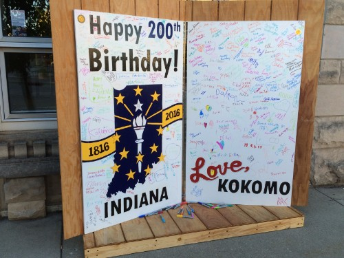 Happy 200th Birthday Card Howard County