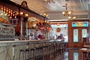 Zaharakos - Find an ice cream parlor of stained glass, carved oak, and marble - and a marvel of ice cream & other treats.