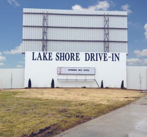 The Lake shore Drive-In, Monticello, opens for its 65th years in April, 2014.