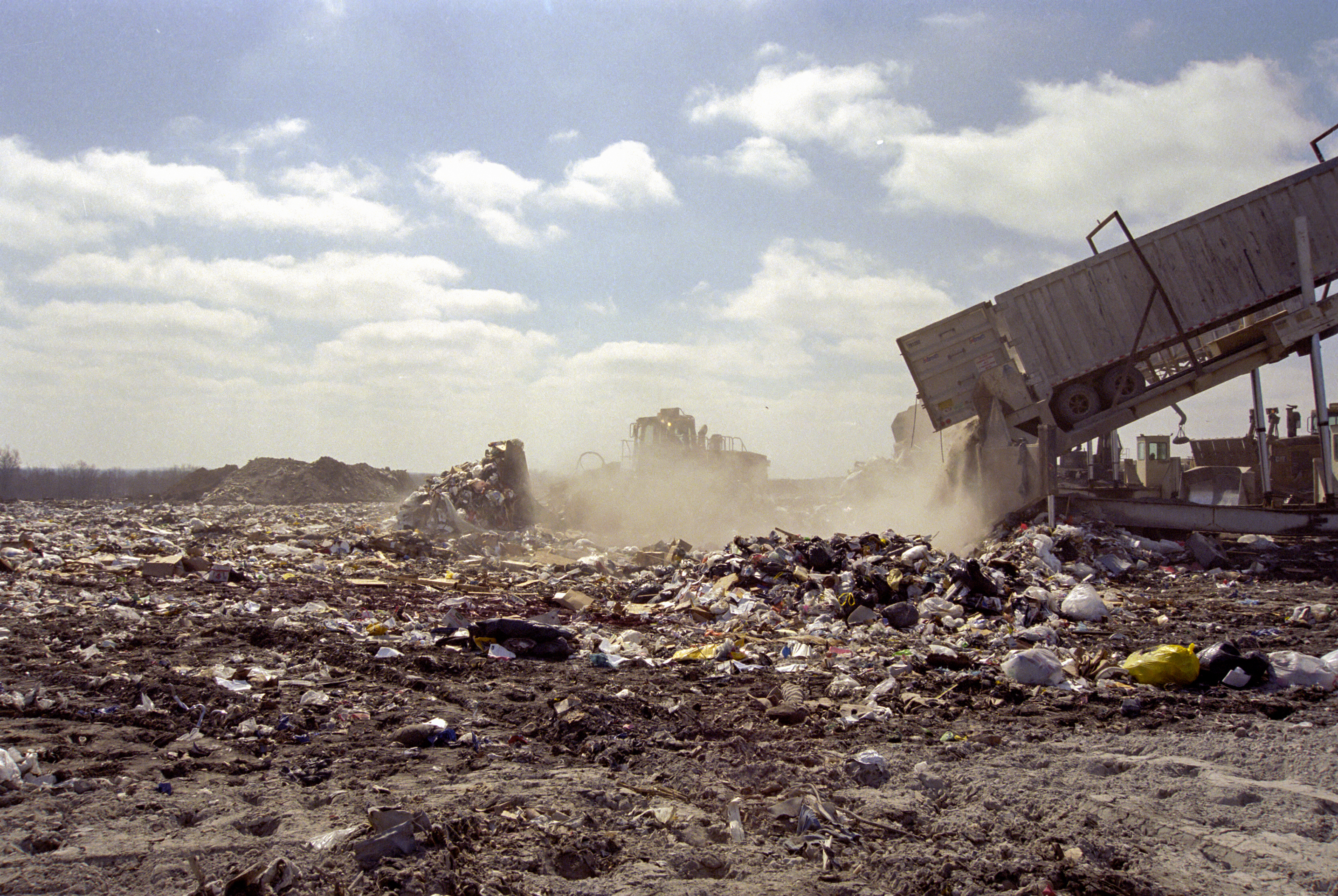 When The Landfill Becomes Full With Trash It Is Then Closed And We Will  Have To Find A New Place For All Of Our Trash To Go