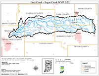 WMP Map for Deer Creek-Sugar Creek