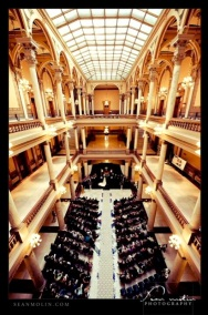 Statehouse Wedding