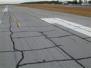 indorpavement crack