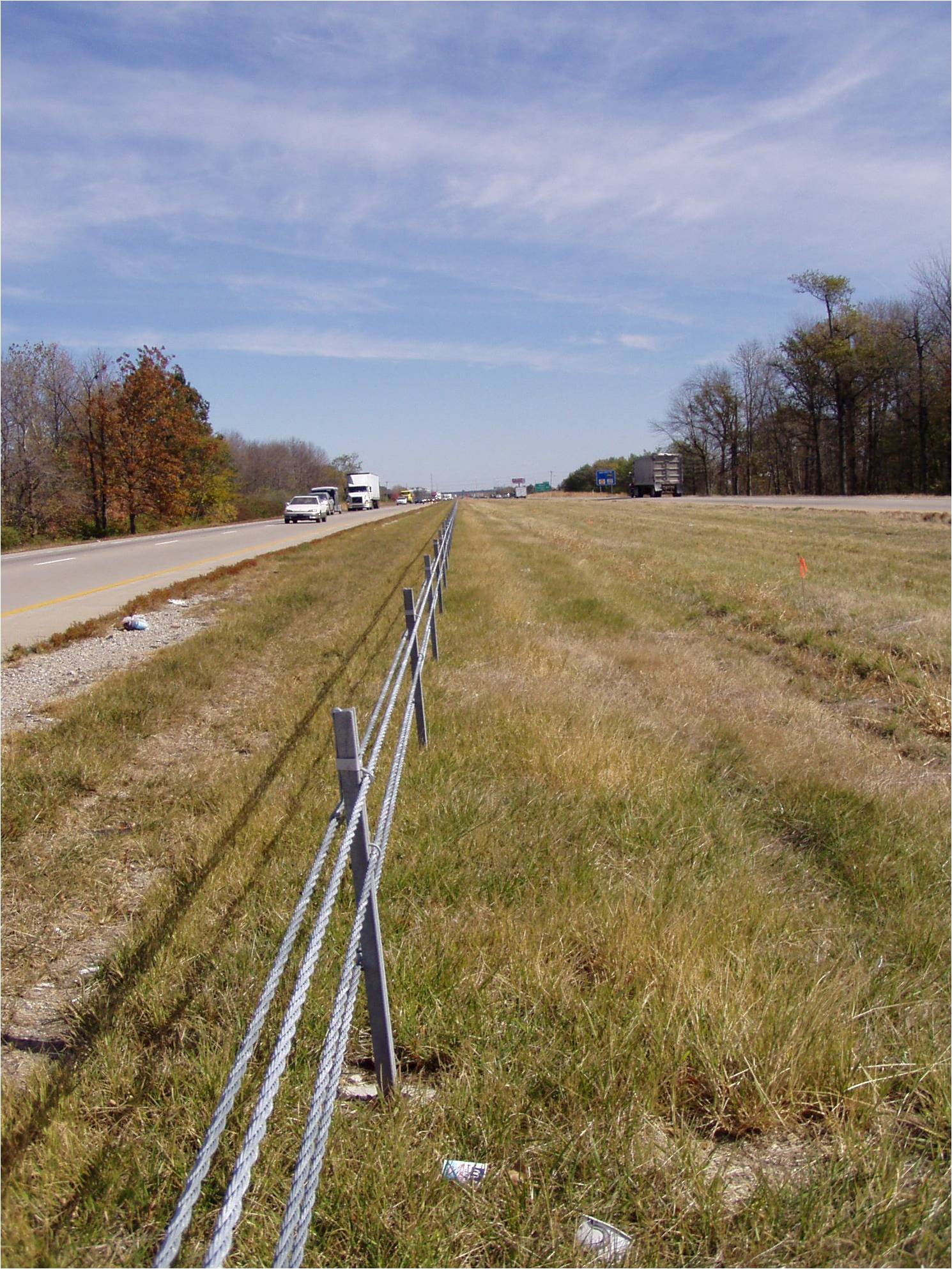 Indot cable barrier systems