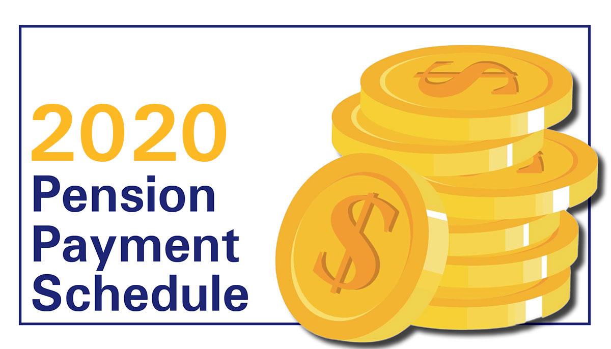 INPRS: 2019 TRF Pension Payment Dates