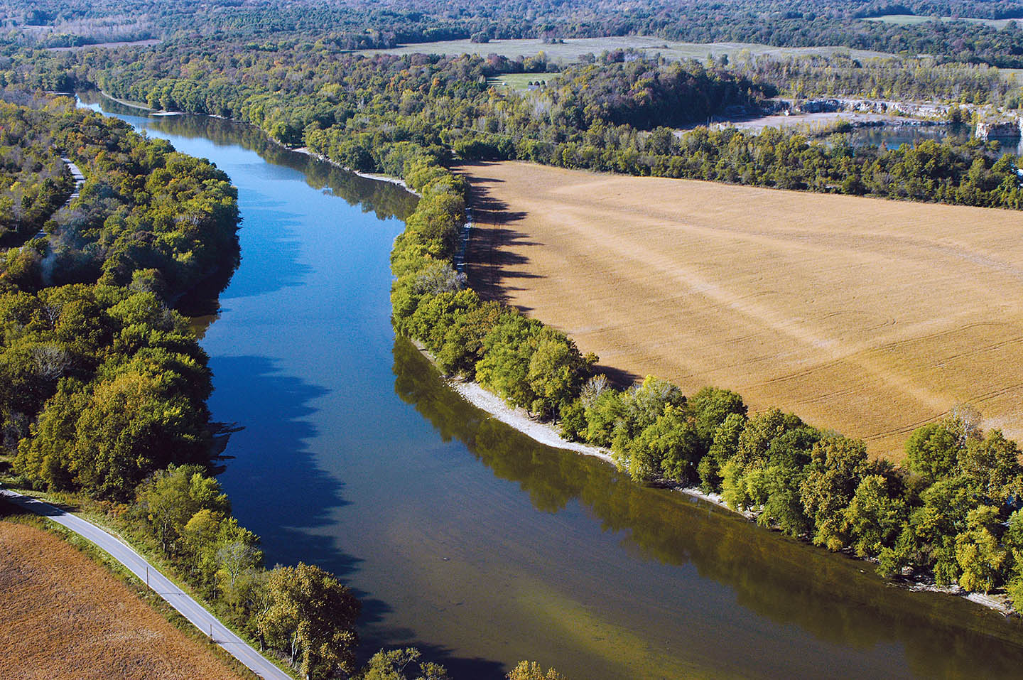 Wabash River Map ISDA: Indiana's Nutrie...