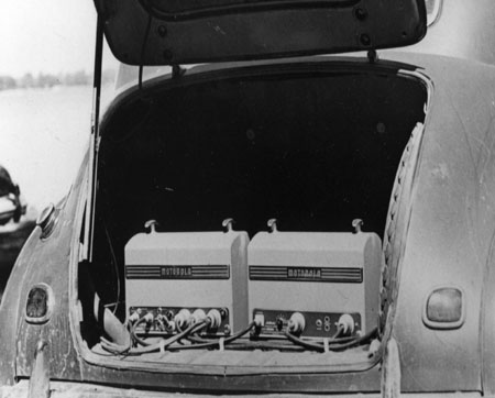 1946 Ford Trunk with Motorola 30Ds