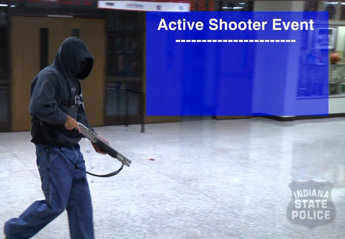Active shooter in school