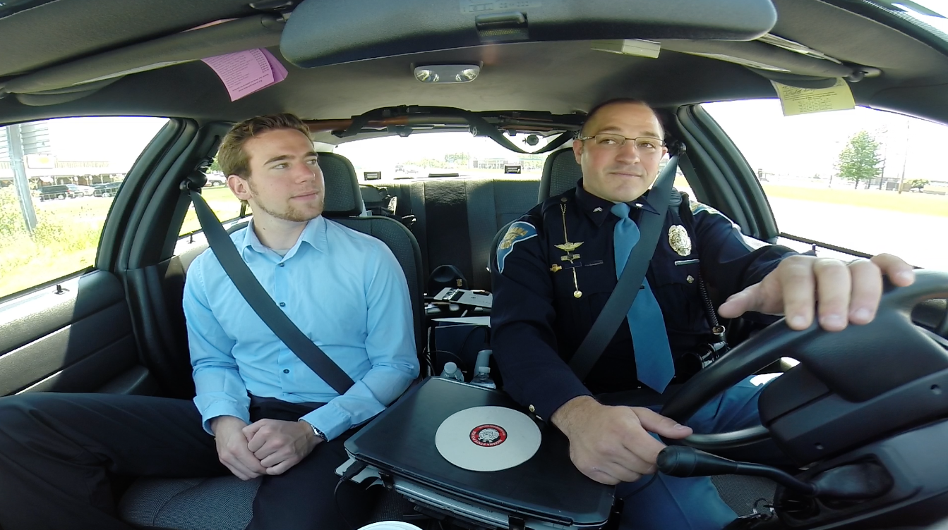 what happens on a police ride along