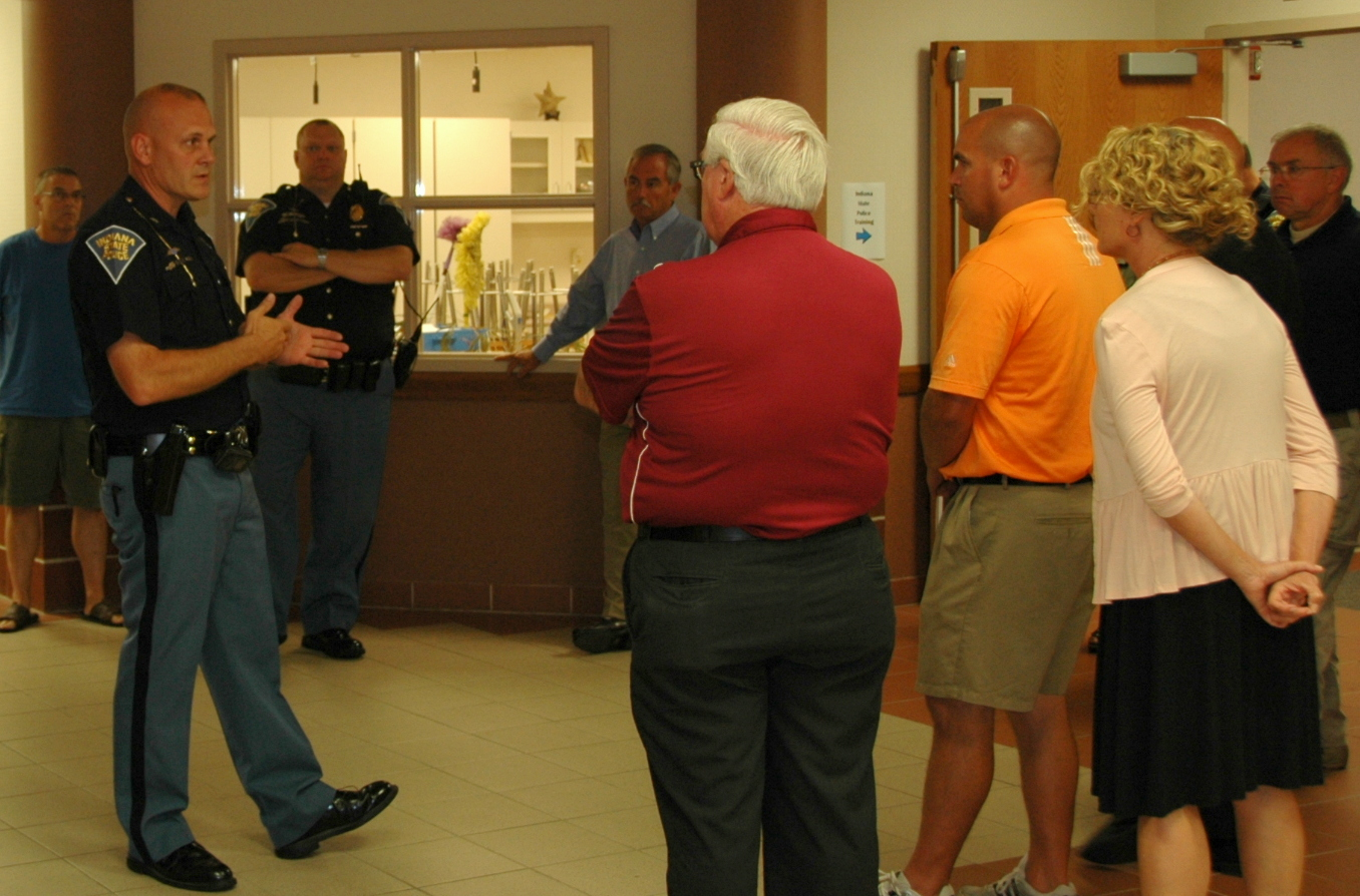 ISP presents School Safety program