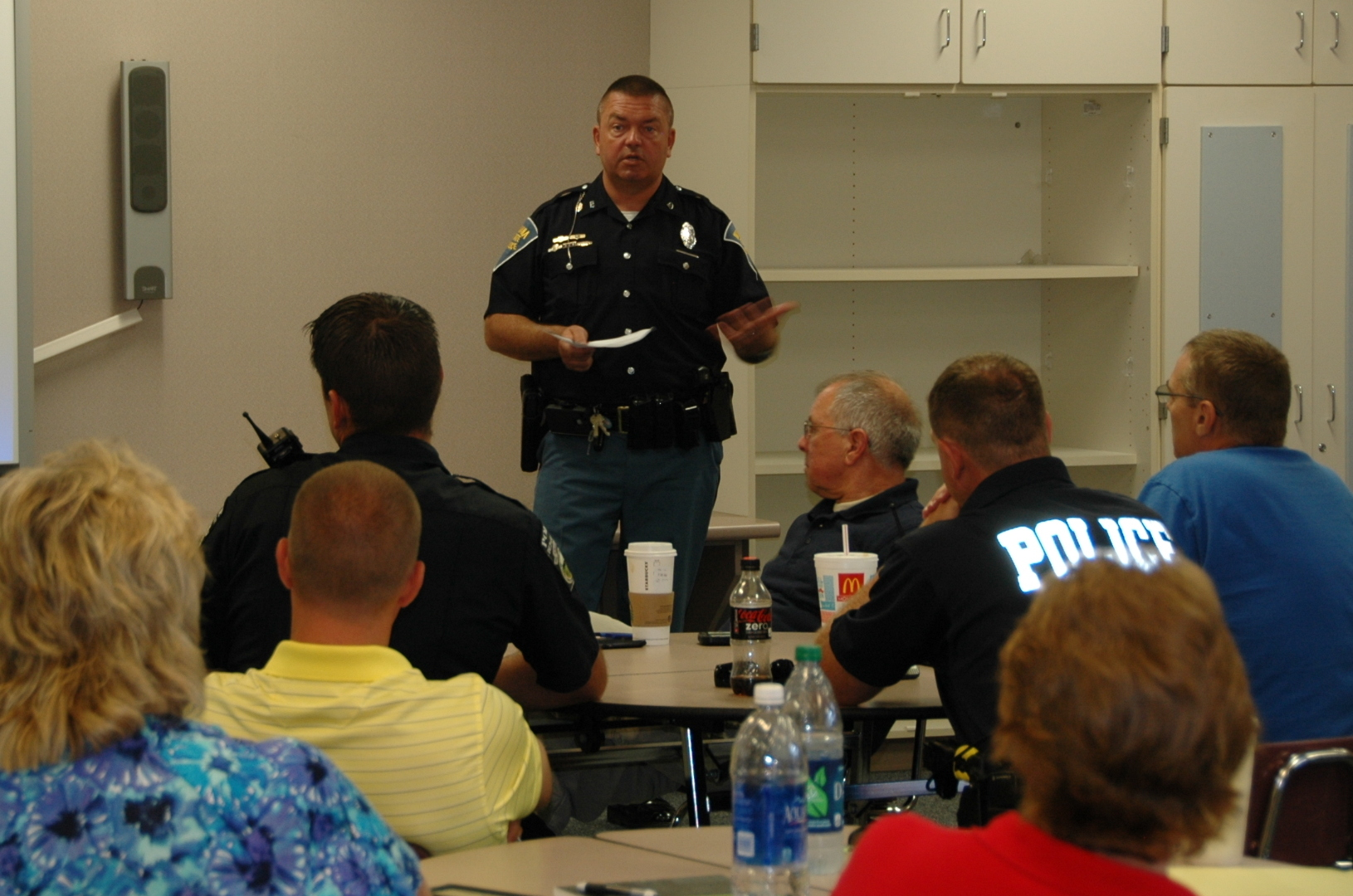 ISP gives safety presentation