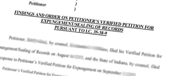 ISP: Expunge Criminal History