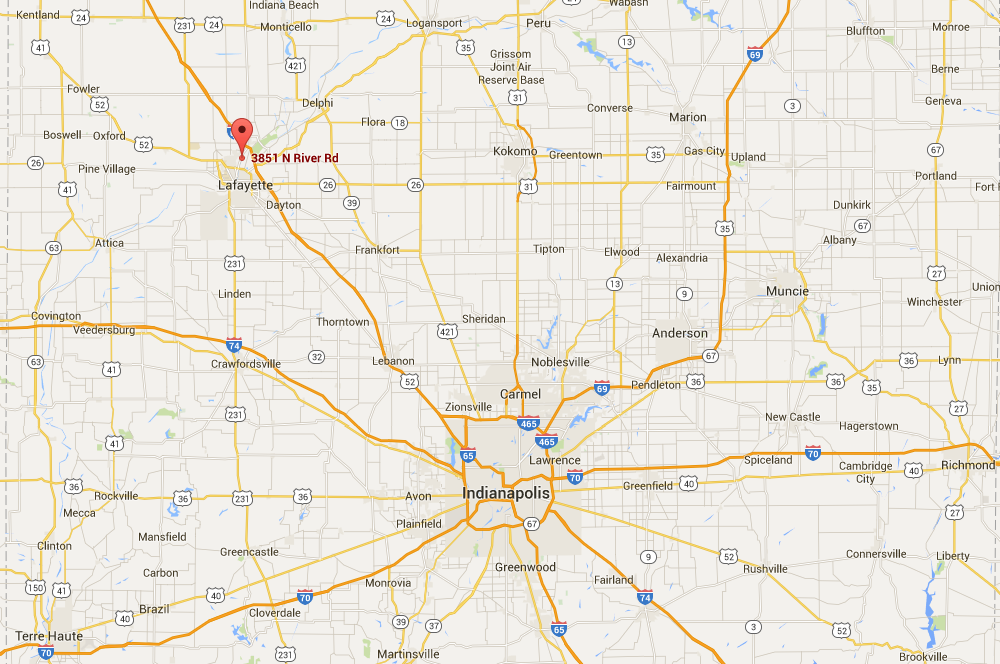 IVH: Directions to IVH on indiana flood map, indianapolis google, indiana map with exit numbers,