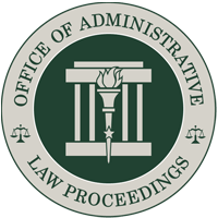Indiana Office of Administrative Law Proceedings Logo